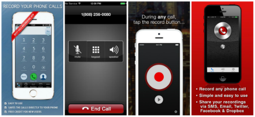 Automatic Call Recorder App for iPhone 6/6 Plus