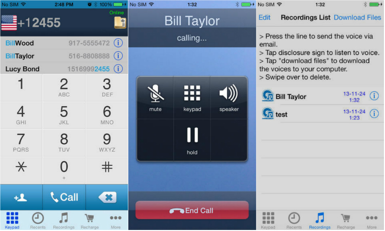 Automatic Call Recorder App for iPhone 6/6 Plus - AppDazzle