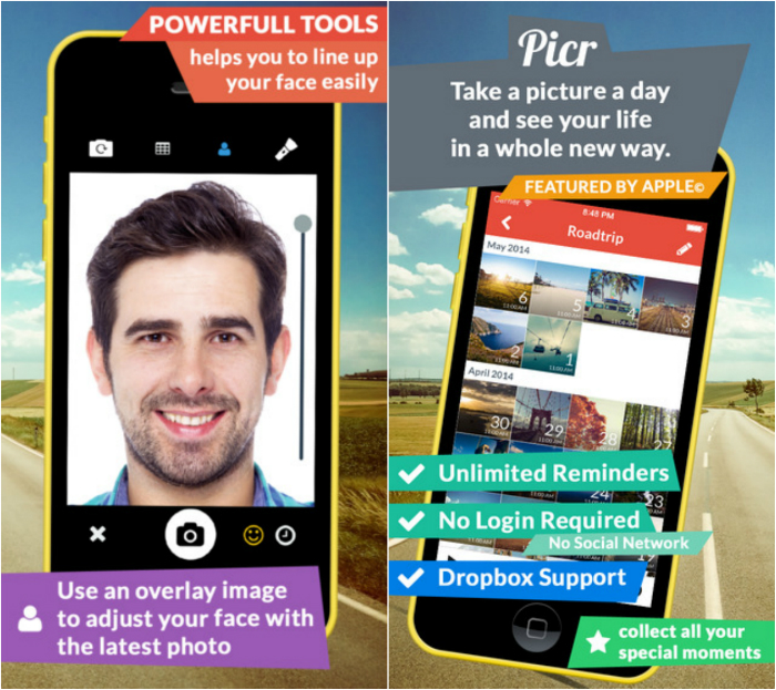 Selfie Apps For iOS (iPhone,iPad,iPod)