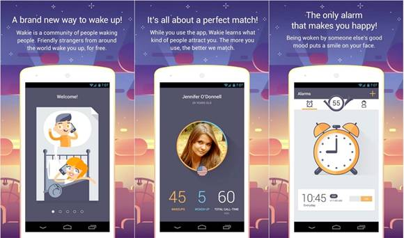 Wakie: Best Social Alarm Clock for iOS