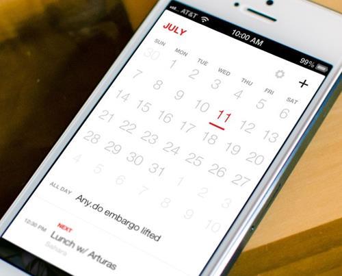 Any Do Iphone or Ipad productivity app