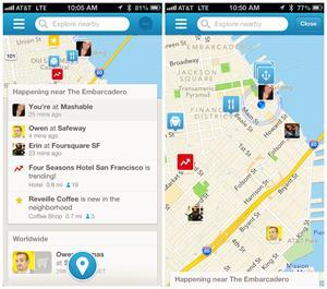 Best travel apps foursquare