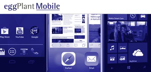Mobile Application Testing Tools EggPlant