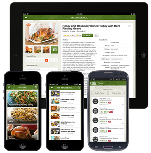 Healthy recipe app for iOS devices