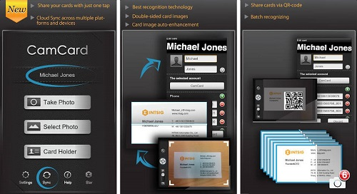 Best Business Card Reader App for iPhone