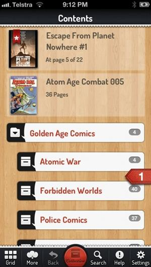 comic zeal best comic book reader app for iphone