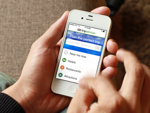 trip advisor is one of the best travel apps for iPhone and iPad