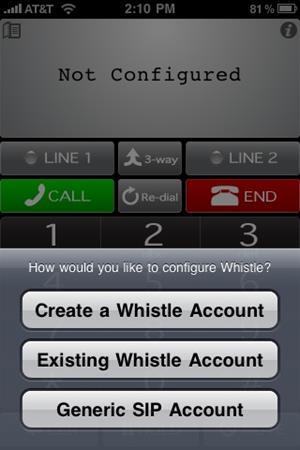 whistle phone the best ViOPs for iPhone and iPad
