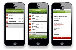 Recipe.com Shopping List App