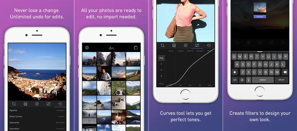 Dark Room Photo Editor-Best Photo Editing Apps for iPhone