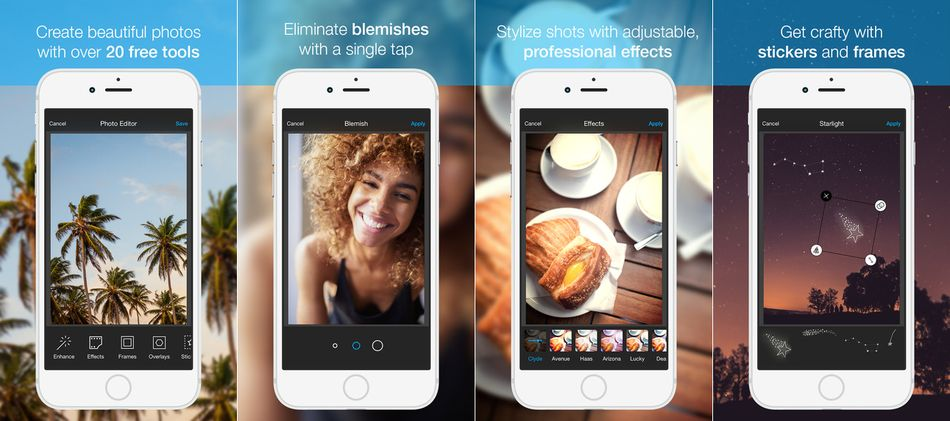 Photo Editor by Aviary-Best Photo Editing Apps for iPhone