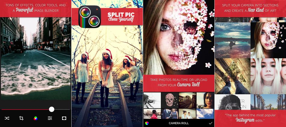 Split Pic Collage Maker Photo Editor and Cam Blender best filter edits plus awesome fx