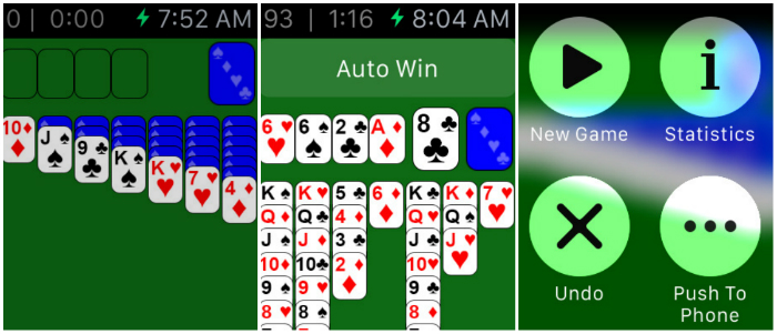 Top 10 Games For Apple Watch-Solitaire by Harpan