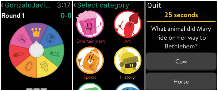 Top 10 Games For Apple Watch-Trivia Crack