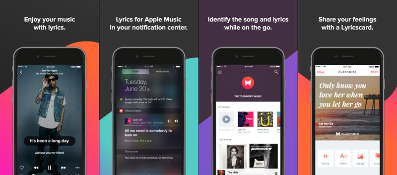 What Song is This Apps to Identify Music Online Musixmatch Lyrics Finder