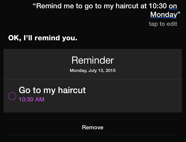 Set Reminders on your iPhone and iPad