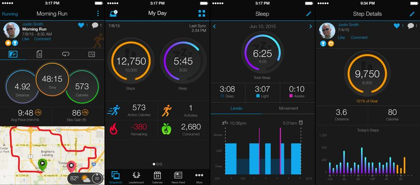 Garmin Apps for iPhone