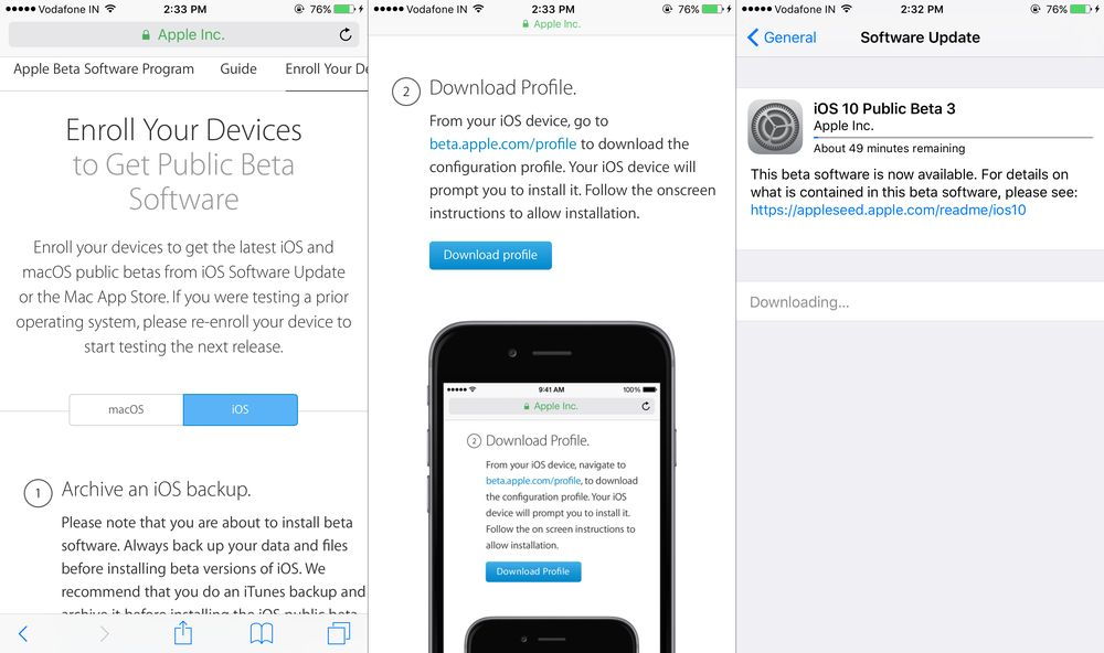 How to Install iOS 10 Public Beta on iPhone and iPad - AppDazzle