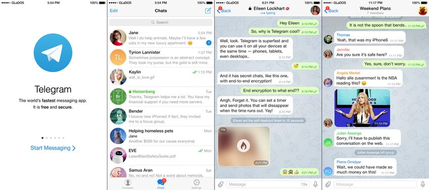 Private Messaging Apps for iPhone and iPad - AppDazzle