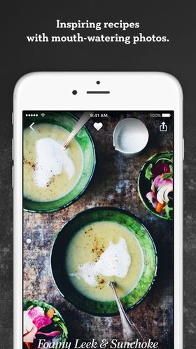 Recipe manager app for ios devices appdazzle green kitchen 399 green kitchen healthy vegetarian recipes forumfinder Image collections