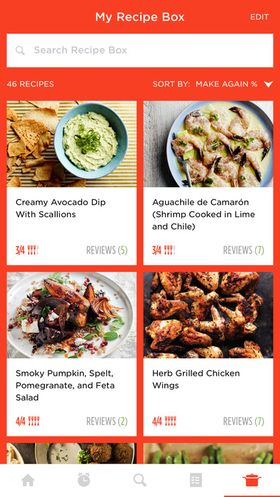 Recipe manager app for ios devices appdazzle epicurious epicurious recipes food videos forumfinder Images