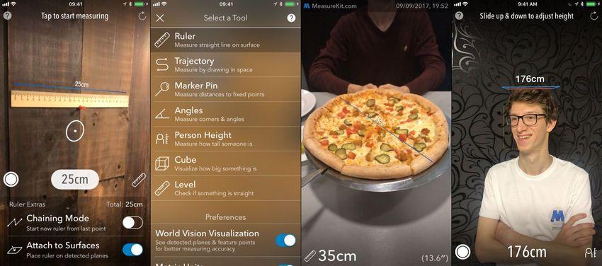 AR MeasureKit AR Apps