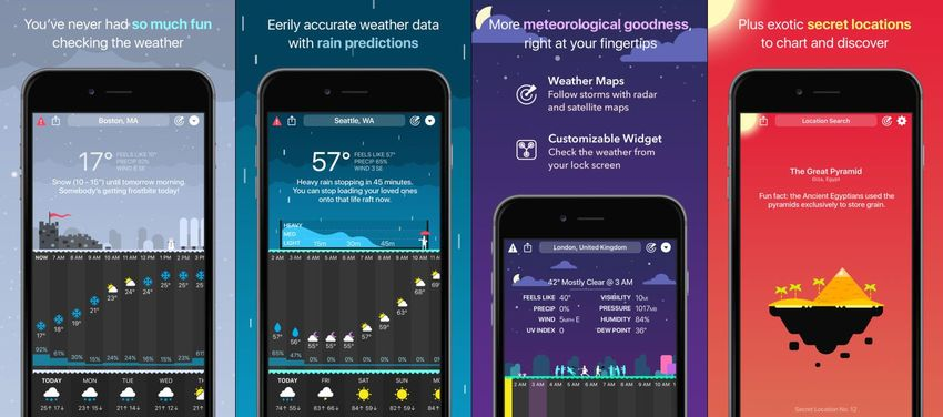 CARROT Weather App