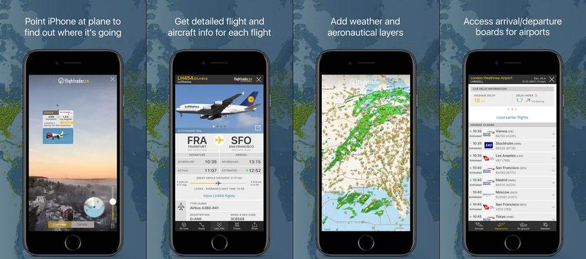 Flightradar24 Flight Tracker AR App