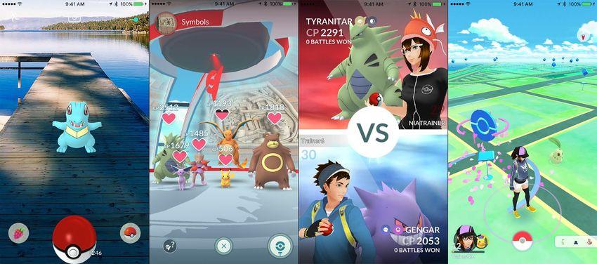 Pokémon GO AR game